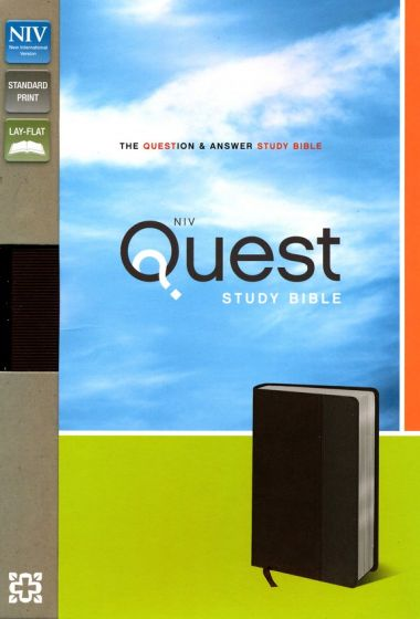 NIV Quest Study Bible: The Question and Answer Bible ...